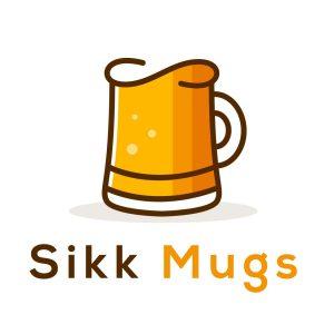 Beer Cup Sikk Mugs Logo